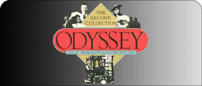 Odyssey Banner | Billy Kay | Odyssey Productions